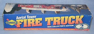 1995 Sunoco Aerial Tower Fire Truck, Collectable Trucks