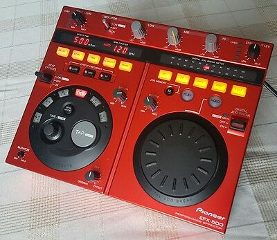Pioneer EFX-500 DJ Performance Effector - Limited edition Red