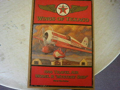 "Wings Of Texaco #5 - 1930 Travel Air Model R ""Mystery Ship"" Die Cast Airplane"