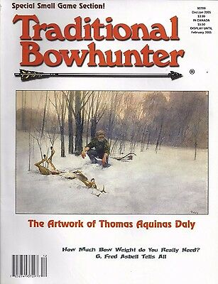 2005 Traditional Bowhunter Magazine all Six Yearly Issues