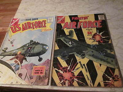 Charlton  war comics Silver Age Reading Lot (10 issues)