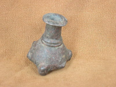 Ancient Bactrian Bronze Khol BOTTLE C.300 BC