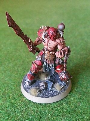 Warhammer Age of Sigmar - Chaos - Khorne Slaughter Priest - PAINTED - 40k
