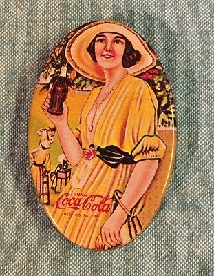 Miniature Drink Coca Cola Tin or Pill Box