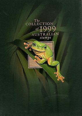 1999 The Collection Of Australian Stamps Year Book - Empty Of Stamps