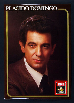 Placido Domingo A portrait of Placido Domingo 1972 Album Promo Poster 17 x 24