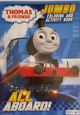 NEW Thomas & Friends Jumbo Coloring and Activity Book