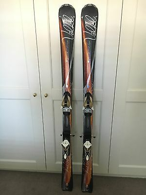 Awesome Volkl Attiva Fuego skis and bindings in excellent condition 154cm