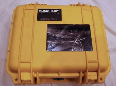 Omniguard 5 - Differential Negative Pressure Recorder!!! FREE SHIPPING!!!!