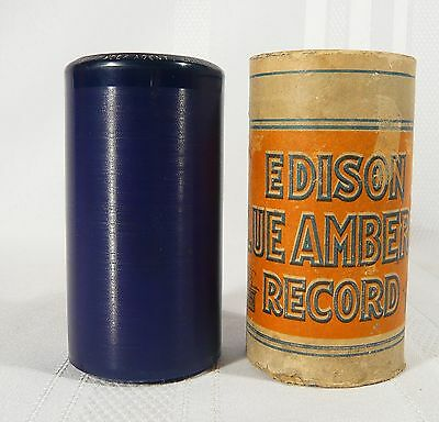 EDISON Blue Amberol Cylinder Record 2598 The Insect Powder Agent Golden  Marlowe