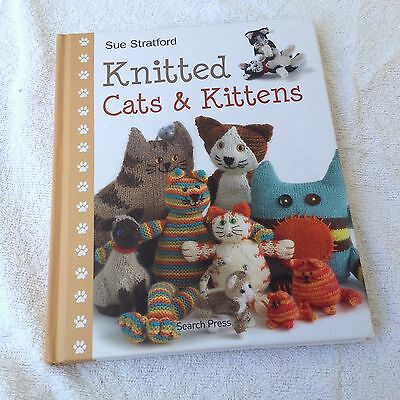Knitted Cats And Kittens Knitting Book By Sue Stratford