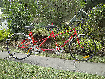 "Vintage Tandem Bicycle Custom Built "" Twin Spinner "" 27 Inch."