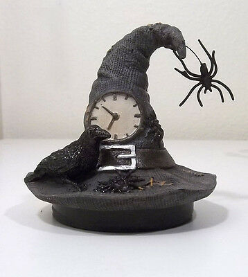 Yankee Candle SPELLBOUND HALLOWEEN WITCH HAT CANDLE JAR TOPPER 2014-2015
