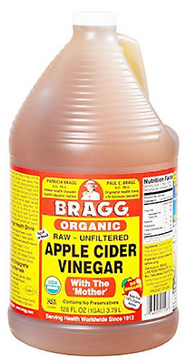 Bragg Apple Cider Vinegar 1 Gallon / 128 ounces