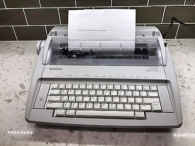 Brother GX-6750 Daisy Wheel Portable Electronic Typewriter