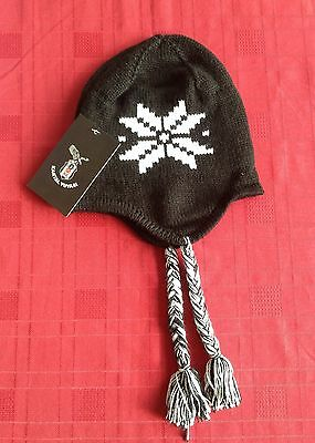 Bejiktas Kids Beanie Black And White
