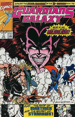 Guardians of the Galaxy (1990 1st Series) #7 FN Marvel Comic (C-3)