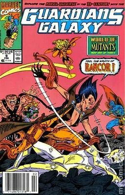 Guardians of the Galaxy (1990 1st Series) #9 FN Marvel Comic (C-4)