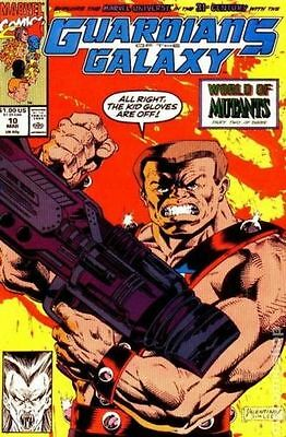 Guardians of the Galaxy (1990 1st Series) #10 FN Marvel Comic (C-4)