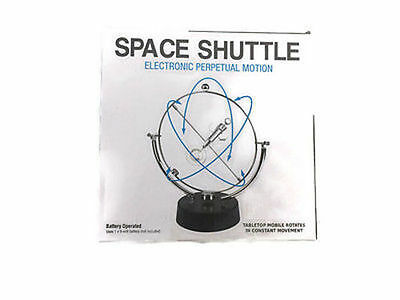 Westminster Space Shuttle Electronic Perpetual Motion - NEW - FREE SHIPPING