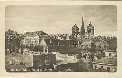 11902934 Geneve GE Cathedrale St Pierre et le College Geneve