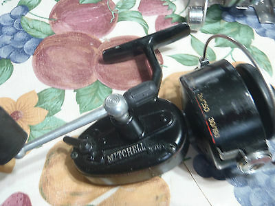 vintage fishing reel mitchell 301a