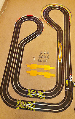 Scalextric Set, Large Classic Layout, sport power, 2 matched F1 cars, VGC