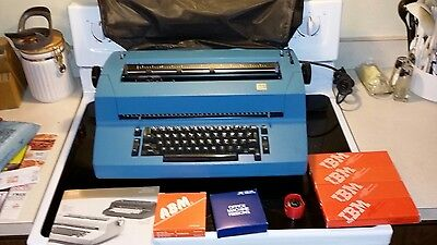 Vintage IBM Correcting Selectric 2 Typewriter Blue Tested And Working Great Cond