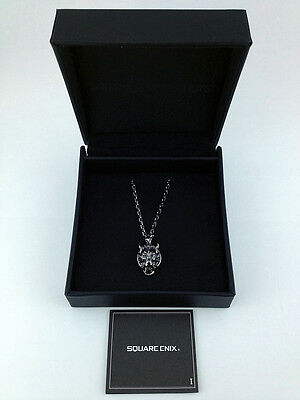 Final Fantasy VII 7 Advent Children Silver Pendant Necklace Cloudy Wolf New