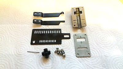 Brother Knitting Machine Ribber Kr850 Kr830 Racking Handle Assembly Plus Screws