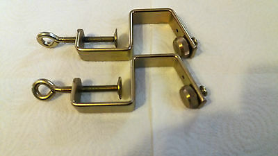 Brother Knitting Machines Parts Ribber Kr850 Kr830 Curved Table Clamps