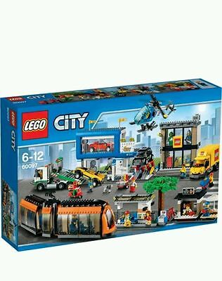 Lego City - 60097 - Town Square - Brand New & Sealed 2