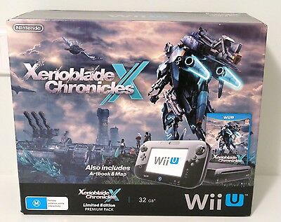 Xenoblade Chronicles X Nintendo Wii U Console BOX ONLY - Posted in a Strong Box