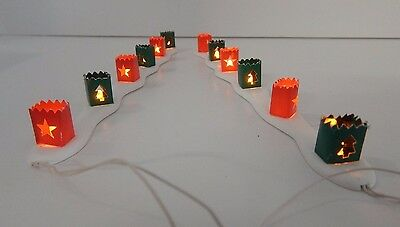 Dept 56 Village Christmas Luminaries #52715 D56 Good Condition Works Perfectly!