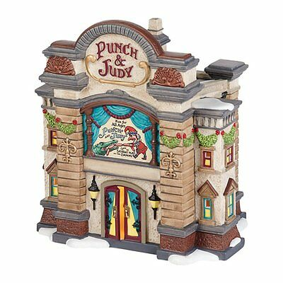 Dept 56 Dickens Village Punch & Judy Theatre #4036511 New in Box Retired