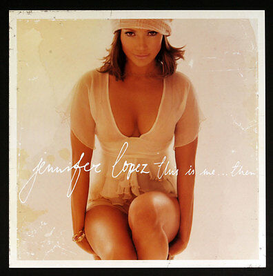 Jennifer Lopez This is me.. Then 2000 Album Promo 12x12 Poster 2 sided