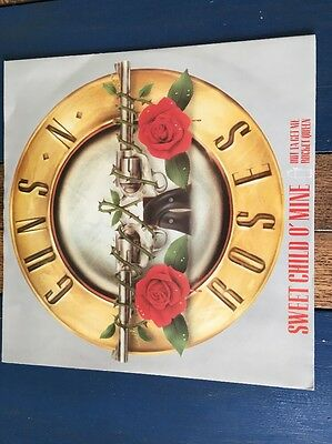 "Guns N' Roses - Sweet Child O' Mine  12 "" Limited Edition Vinyl Record A1/B1"