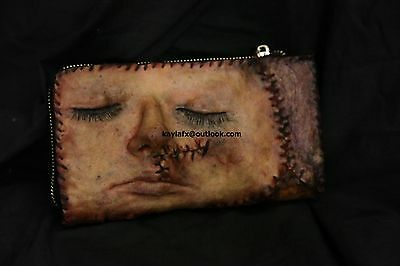 Ed gein Horror Womens Wallet Purse Gothic Halloween Human Oddity skin  Christmas