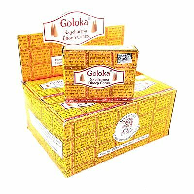 Goloka Incense Doop Cones - 3X Fragrances Available