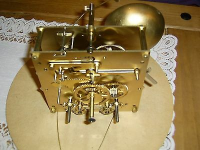 Keininger Longcase Clock Movement ....including dial face and weights ...