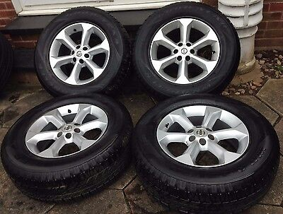 Nissan Navara D40 2006-16 X4 17 Inch Alloy Wheels With Goodyear Wrangler Tyres