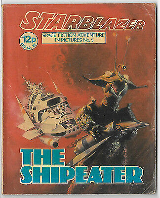 Starblazer 5 (1979) almost high grade copy - Jaimie Ortiz artwork
