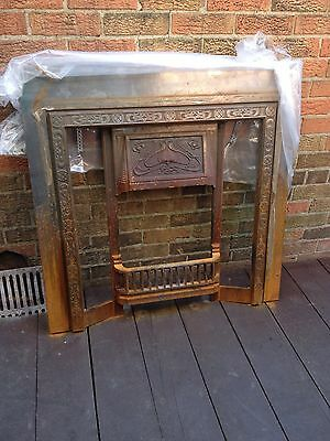 Reproduction Victorian fireplace.
