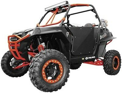 Dragonfire Dragonfire HiBoy Suicide Doors Textured Black for Polaris RZR 800 14
