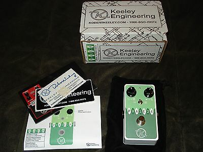 Keeley Phase 24 2/4 Stage Phaser Pedal