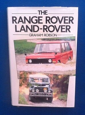 Range Rover & Land Rover Book By Graham Robson In Good Used Condition