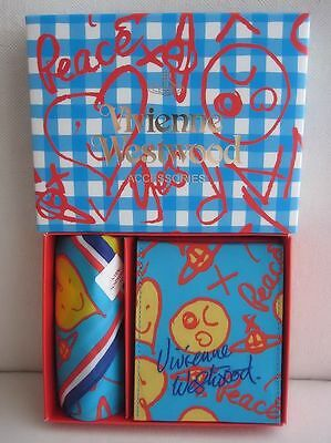 BRAND NEW Vivienne Westwood Yes to Peace Mirror & Handkerchief Set