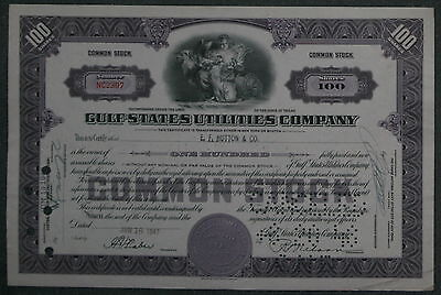 Gulf States Utilities Company 1947 100 Shares .