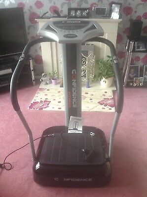 Confidence Fitness Vibration Massager Plate Power Trainer Exercise Machine