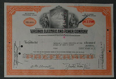 Virginia Electric and Power Company10 Shares .